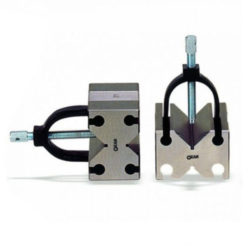 V BLOCK AND CLAMP SET